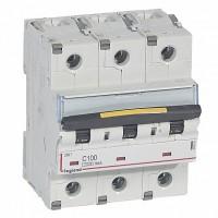 Автомат. выкл. 3-пол. 100А тип C 10кА серия DX3