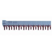 Шинка гребен. 3п+H NL1NL2NL3…(шаг9мм) 48мод. 18мм 80А разрезаемая SchE