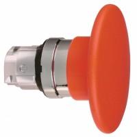 Головка красной грибовидной кнопки 22 мм диаметр 60 мм с возвратом
