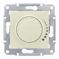 Светорегулятор поворотный 60-325 Вт индуктивный бежевый Sedna