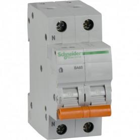 Автомат. выкл. 1-пол.+H 63А тип С 4,5кА серия Домовой ВА63