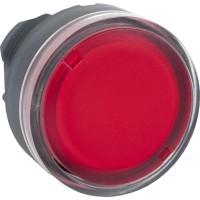 Головка для кнопки с подсветкой красная 22 мм с возвратом