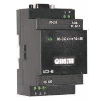 Преобразователь интерфейсов СЕ-825 (RS-485/RS-232) 24 В 100 мА на DIN-рейку