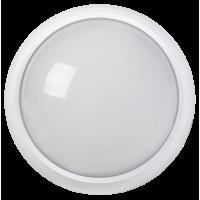 Светильник светодиодный ДПО 3010Д 8Вт 4500K IP54 круг белый пластик с ДД IEK