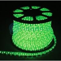 Дюралайт светодиодный LEDх72/м зеленый трехжильный кратно 2м бухта 50м (LED-F)