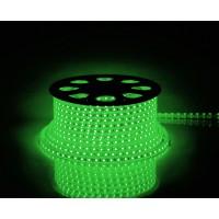 Дюралайт светодиодный LEDх36/м зеленый двухжильный кратно 2м бухта 100м (LED-R)