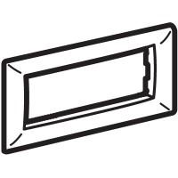 Рамка на 4 модуля для Evolution/Art, черная
