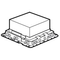 Монтажная коробка в бетон под лючок 18мод