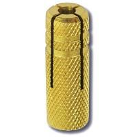 Анкер латунный разрезной М6 аналог 37546