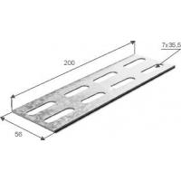 Соединительная планка универсальная для лотка h 80 1,5 мм