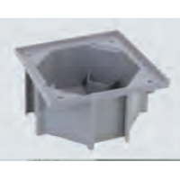 Монтажная коробка в фальшпол под влагостойкую крышку KSE