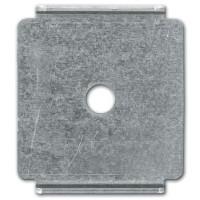 Пластина для подвеса проволочного лотка на шпильке ширина лотка B=100-300 мм