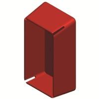 Заглушка торцевая для одиночного профиля DBL/DBM/41х21мм