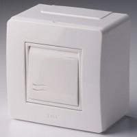 Коробка для миниканалов с выключателем