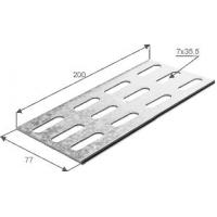 Соединительная планка универсальная для лотка h 100 1,5 мм
