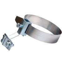 Хомут на металлические трубы D80-160 мм