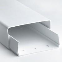 Кабель-канал с основанием и крышкой 90х60 мм