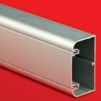 Кабель-канал алюминиевый In-Liner Aero 90х50 серый металлик