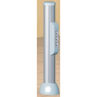 Мини-колонна на 4 секции, высота 0,7м, белая