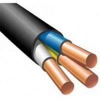 Кабель силовой 3х10 кв.мм медный 0,66 кВ с ПВХ изоляцией негорючий с низким дымо- и газовыделением