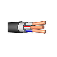 Кабель силовой ВВГнг(А)-LSLTx 3х1,5ок(N,PE)-0,66 (ГОСТ 31996-2012)