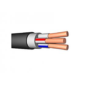 Кабель 3х2.5 кв.мм медный с ПВХ изоляцией с низкой токсичностью продуктов горения