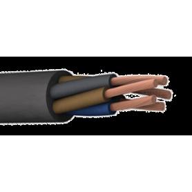 Кабель силовой 2х0.75 кв.мм медный гибкий с резиновой изоляцией холодостойкий