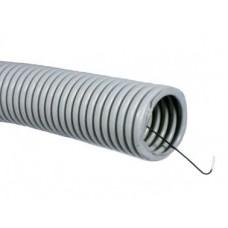 Труба гибкая легкая с протяжкой ф16, бухта 25 метров