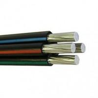 Провод самонесущий изолированный СИП 4х25 кв.мм алюминиевый 0,66/1 кВ с ПЭ изоляцией