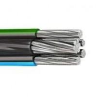 Провод самонесущий изолированный 3х120+1х95 кв.мм алюминиевый 0,66/1 кВ с ПЭ изоляцией