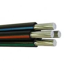 СИП 4 4х16, провод самонесущий изолированный 4х16 кв.мм алюминиевый 0,66/1 кВ с ПЭ изоляцией