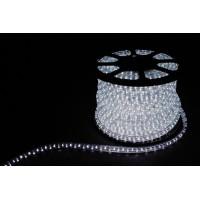 Дюралайт светодиодный LEDх72/м белый трехжильный кратно 2м бухта 50м (LED-F)