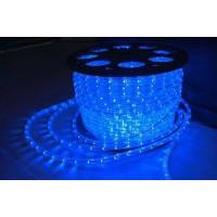 Дюралайт LEDх72/м синий/белый трехжильный кратно 2м бухта 50м (LED-F)