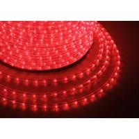 Дюралайт LEDх72/м синий/красный трехжильный кратно 2м бухта 50м (LED-F)