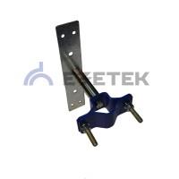 Кронштейн для мачты 90 мм на планке, сталь