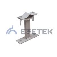 Кронштейн для мачты 150 мм стандарт, сталь